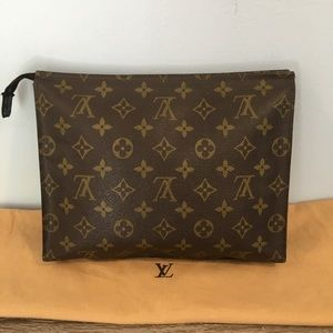 Authentic Louis Vuitton monogram case
